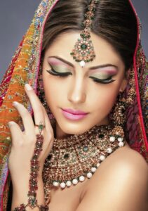Indian Bridal makeup beauty tips for bride indian wedding hair style, trendy hairstyles hair care makeup artist ladies beauty parlour salon Borivali Malad mumbai bridal pre bridal package reasonable cost Rs 4000 complete family bridal package Rs 10000