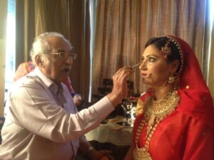 Indian Bridal makeup beauty tips for bride indian wedding hair style, trendy hairstyles hair care makeup artist ladies beauty parlour salon Thane Mira Road Bhayander mumbai bridal pre bridal package reasonable cost Rs 5000 complete family package Rs 10000