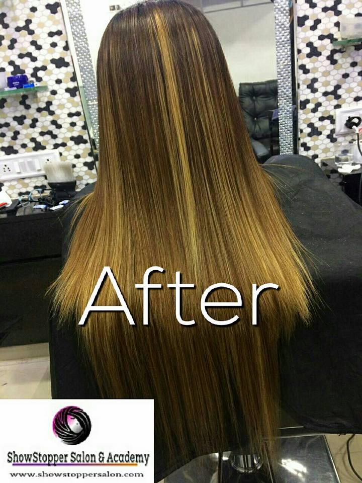 Bridal Pre Bridal Package Hair Straightening Hair Colour Spa